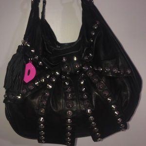 Betsey Johnson💯% Soft glove leather bag